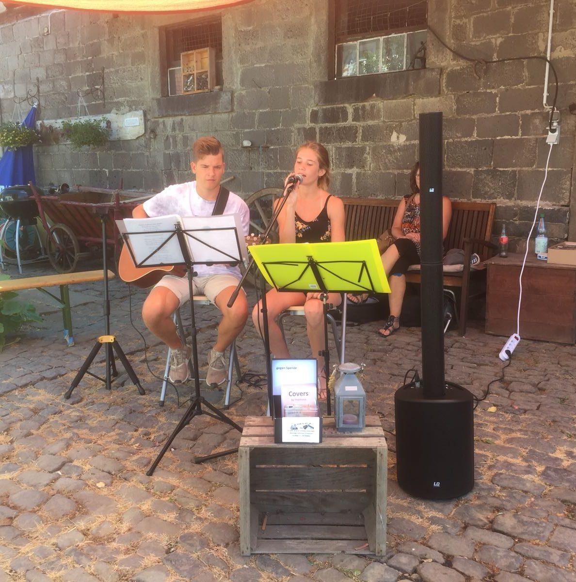 Duo Steffi und Jan